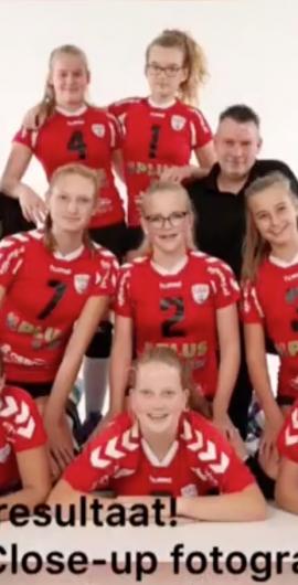 Meisjes B1 2018/2019